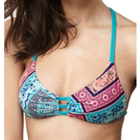 ONEILL Bikini Top PW Fixed Triangle green aop