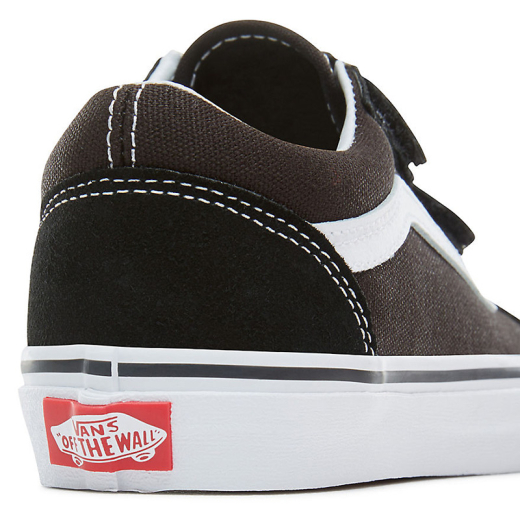 VANS Kids Schuh Old Skool Klett V black/true white
