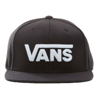 VANS Snapback Cap Drop V II black/white