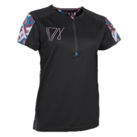 ION Women Bike Shirt Half Zip Traze black