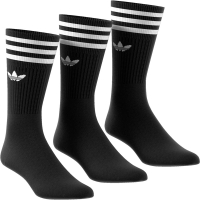 ADIDAS Socken Solid Crew black/white