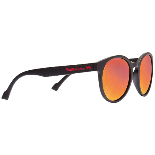 RED BULL Sonnenbrille Lace matt black red mirror polarisiert LACE-004P