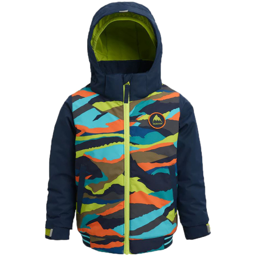 BURTON Kids Snow Jacke Gameday summit stripe/dress blue