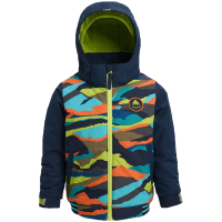 BURTON Kids Snow Jacke Gameday summit stripe/dress blue 4T