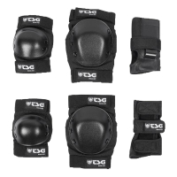 TSG Skate Protektor Set Basic black