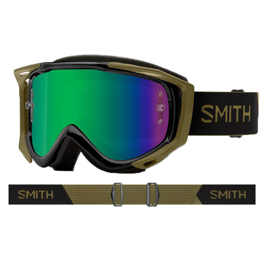 SMITH Bike Goggle Fuel V.2 SW-X M mystic green/green mirror