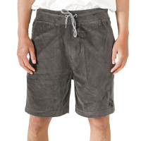 PUKAS Walkshort Estrella De Fuego Velvet faded black