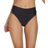 VOLCOM Bikini Highwaist Hose Simply Solid Retro black