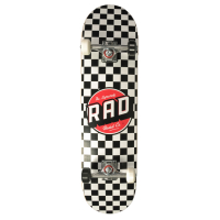 RAD Complete Skateboard Checkers Dude 8,00