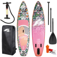 F2 SUP Board Happiness 106 + Paddle + Pumpe + Tasche