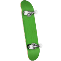 MINI LOGO Complete Skateboard ML Chevron Stamp 8,25 green