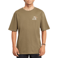 VOLCOM T-Shirt Kittykat Rlx SS military