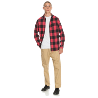 QUIKSILVER Hemd Motherfly red