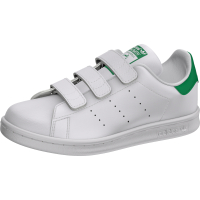 ADIDAS Kids Schuh Stan Smith CF C white, green