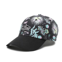 VANS Women Snapback Cap Court Side Printed califas black