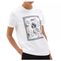 VANS Women T-Shirt Boarder Floral Bf white