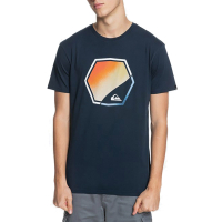 QUIKSILVER T-Shirt Fading Out SS navy blazer