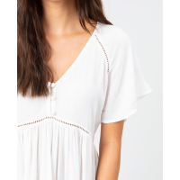 RIP CURL Kleid In Your Dreams Dress  white