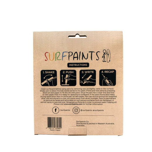 SURFPAINTS Premium 8 Pack - Pastel Set