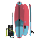"""BRUNOTTI SUP Set Board iSup Discovery pink 106"""" inflateabel + Paddle + Pump + Bag"""