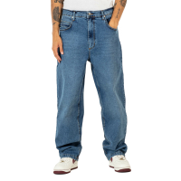 REELL Jeans Hose Baggy retro mid blue
