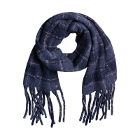 ROXY Women Scarves Never Know This mood indigo plaid party
