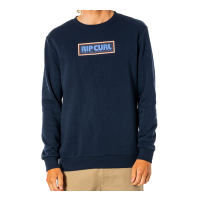 RIP CURL Pullover Surf Revival Box Crew navy