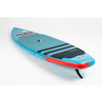 """FANATIC SUP Ray Air 126"""" + RED PADDLE Alloy Paddle"""