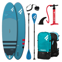 """FANATIC SUP Set Fly Air 108"""" blue + Pumpe + Paddle +..."""