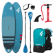 """FANATIC SUP Fly Air 108"""" blue + Pumpe + Paddle + Bag"""